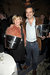 Chefs HELENE DARROZE and MARK HIX at the 2009 Tatler Restaurant Awards in association with Champagne Louis Roederer held at the Mandarin Oriental Hyde Park, 66 Knightsbridge, London SW1 on 19th January 2009.
