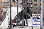 Kosovo, Pristina, Mitrovica<br /> Saturday, February 16, 2008<br /> Mitrovica bridge, in way to Northern