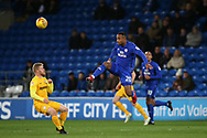 Loic Damour of Cardiff city (20) in action .EFL Skybet championship match, Cardiff city v Preston North End at the Cardiff city stadium in Cardiff, South Wales on Friday 29th December 2017.<br /> pic by Andrew Orchard, Andrew Orchard sports photography.