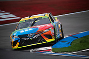 September 28-30, 2018. Charlotte Motorspeedway, ROVAL400: 18 Kyle Busch, M&M's, Toyota, Joe Gibbs Racing