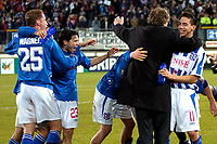 Fotball<br /> Foto: ProShots/Digitalsport<br /> NORWAY ONLY<br /> <br /> UEFA Cup<br /> Heerenveen v Levski Sofia 2-1<br /> 14th December, 2005<br /> <br /> Heerenveen feirer Andre Hanssens scoring i sluttsekundet som ga avansement