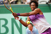 Roland Garros 2011. Paris, France. May 30th 2011..French player Gael MONFILS against David FERRER