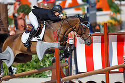 Danielle Goldstein, (ISR), Carisma - Jumping First Round Team Competition - Alltech FEI World Equestrian Games™ 2014 - Normandy, France.<br /> © Hippo Foto Team - Dirk Caremans<br /> 03/09/14
