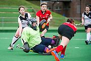 Southgate v Northampton - Investec Women's Hockey League - East Conference, Trent Park, London, UK on 19 February 2017. Photo: Simon Parker