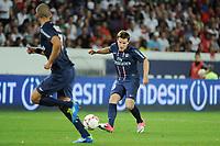 FOOTBALL - FRENCH CHAMPIONSHIP 2012/2013 - L1 - PARIS SG v FC LORIENT - 11/08/2012 - PHOTO JEAN MARIE HERVIO / REGAMEDIA / DPPI - KEVIN GAMEIRO (PSG)