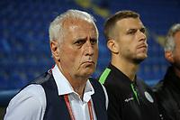 PODGORICA, MONTENEGRO - JUNE 07: Kosovo coach Bernard Challandes before the 2020 UEFA European Championships group A qualifying match between Montenegro and Kosovo at Podgorica City Stadium on June 7, 2019 in Podgorica, Montenegro MB Media