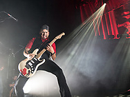 Ian D'Sa of Canadian punk rock band Billy Talent playing a multiple sclerosis charity concert at Schlachthof Wiesbaden