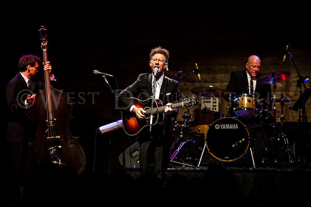 Lyle Lovett and His Acoustic Group perform at Band Together, which was held at Koka Booth Amphitheater on May 4, 2013. Photo by John West