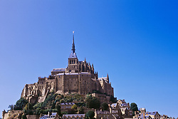 July 21, 2019 - Mont Saint Michel Monastery On Normandy Coast, France (Credit Image: © Bilderbuch/Design Pics via ZUMA Wire)