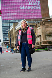 24JUL20 Laura McSorley of the homeless charity Kindness, helping the homeless in George Square.