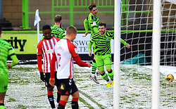 Nicky Cadden of Forest Green Rovers scores a goal making it 1-0- Mandatory by-line: Nizaam Jones/JMP - 02/01/2021 - FOOTBALL - innocent New Lawn Stadium - Nailsworth, England - Forest Green Rovers v Oldham Athletic - Sky Bet League Two