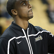 Central Florida guard Jeff Jordan (13) during a Conference USA NCAA basketball game between the Rice Owls and the Central Florida Knights at the UCF Arena on January 22, 2011 in Orlando, Florida. Rice won the game 57-50 and extended the Knights losing streak to 4 games.  (AP Photo/Alex Menendez)