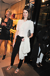 LADY SOPHIE HAMILTON at a party as part of the Vogue Fashion's Night Out held at Tod's, 2-5 Bond Street, London on 6th September 2012.