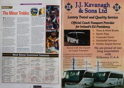 All Ireland Senior Hurling Championship Final,.12.09.2004, 09.12.2004, 12th September 2004,.Senior Cork 0-7, Kilkenny 0-9,.Minor Kilkenny 1-18 ,  Galway 3-12 (draw),.12092004AISHCF,..JJ Kavanagh and Sons Limited,