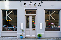 Ishka restaurant and cocktail bar in Edinburgh West End in Scotland , United Kingdom