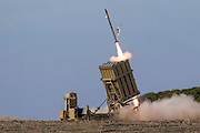 With the increase of tension in Syria, Israel has redeployed Iron Dome units to protect northern Israel from Syrian missiles. Iron Dome (Hebrew: Kipat Barzel) is a mobile air defense system developed by Rafael Advanced Defense Systems designed to intercept short-range rockets and artillery shells.