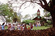 Keawalai Congregational Church, 1832, Makena, Maui, Hawaii