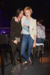 """Mary McCartney and Lily Cole at """"Hoping For Palestine"""" Benefit Concert For Palestinian Refugee Children held at The Roundhouse, Chalk Farm Road, England. 04 June 2018."""