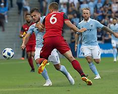 Sporting KC  v Toronto FC 7 July 2018