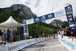 Mountain Vrsic at the end of the Stage 3 from Skofja Loka to Vrsic (170 km) of cycling race 20th Tour de Slovenie 2013,  on June 15, 2013 in Slovenia. (Photo By Vid Ponikvar / Sportida)