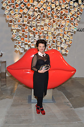 LULU GUINNESS at the launch of The Lulu Perspective to celebrate 25 years of Lulu Guinness held at 74a Newman Street, London on 13th September 2014.