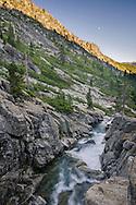 Pyramid Creek, Deoslation Wilderness, El Dorado County, California