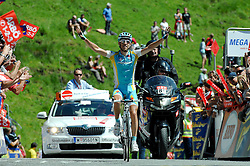 04.07.2011, AUT, 63. OESTERREICH RUNDFAHRT, 2. ETAPPE, INNSBRUCK-KITZBUEHEL, im Bild Fredrik Kessiakoff, (SWE, Pro Team Astana) // during the 63rd Tour of Austria, Stage 2, 2011/07/04, EXPA Pictures © 2011, PhotoCredit: EXPA/ S. Zangrando