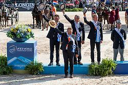 Team NED, Chardon Bram, Chardon IJsbrand, De Ronde Koos<br /> World Equestrian Games - Tryon 2018<br /> © Hippo Foto - Dirk Caremans<br /> 23/09/2018