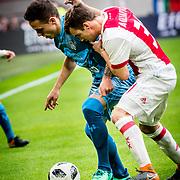NLD/Amsterdam/20180408 - Ajax - Heracles, Nico Tagliafico (31) vs .......