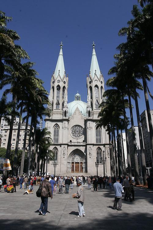 Sao Paulo_SP, Brasil...Catedral da Se (Catedral Metropolitana de Sao Paulo) em Sao Paulo...Se Cathedral (Metropolitan Cathedral of Sao Paulo) in Sao Paulo...Foto: MARCUS DESIMONI / NITRO