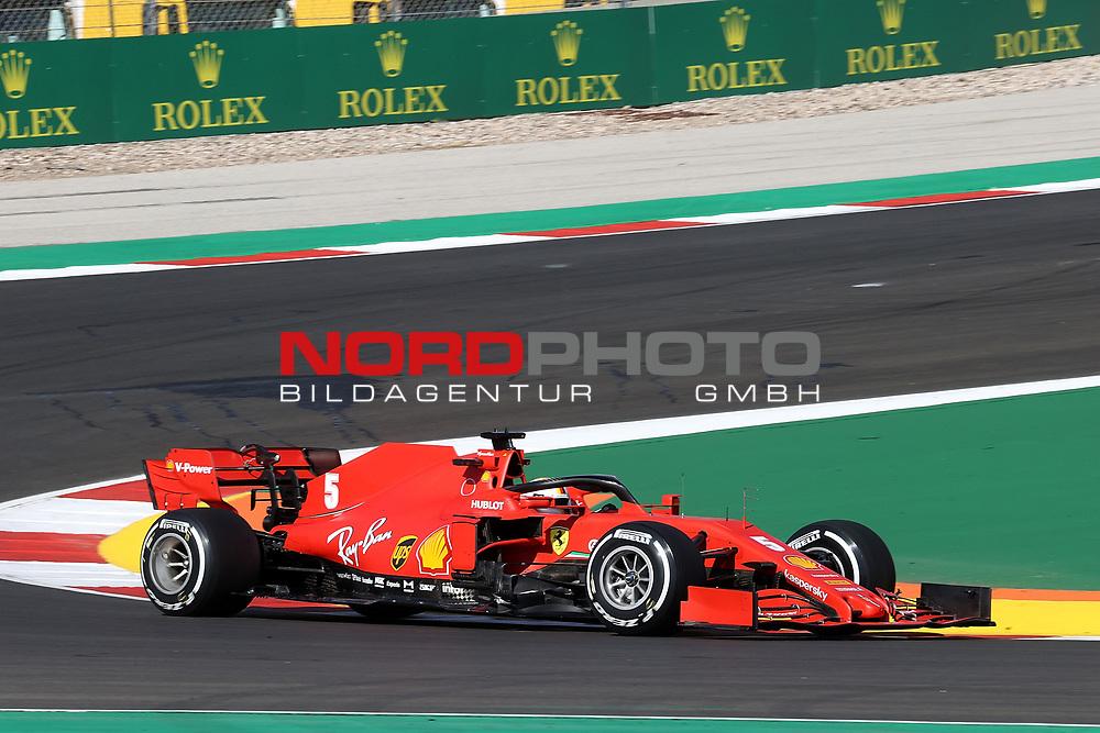 23.10.2020, Autódromo Internacional do Algarve, Portimao, FORMULA 1 HEINEKEN PORTUGUESE GRAND PRIX 2020,im Bild<br />Sebastian Vettel (GER#5), Scuderia Ferrari<br /> <br /> Foto © nordphoto / Bratic