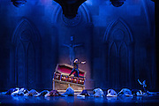 Bay Pointe Ballet performs Bruce Steivel's Dracula at the San Mateo Performing Arts Center in San Mateo, California, on October 30, 2015. (Stan Olszewski/SOSKIphoto)