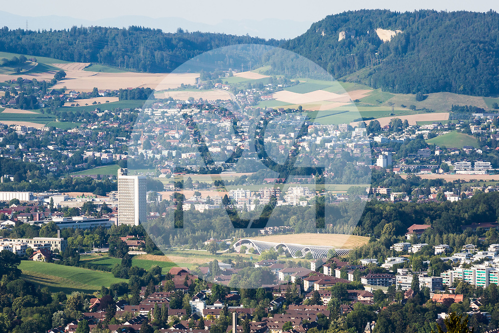 SCHWEIZ - WABERN - Blick auf das Zentrum Paul Klee - 12. Juli 2018 © Raphael Hünerfauth - http://huenerfauth.ch