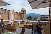 Mariachis, Solar de las Animas Hotel, Tequila, Jalisco, Mexico