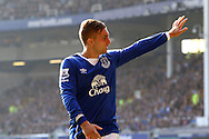 Gerard Deulofeu of Everton looks on. Barclays Premier League match, Everton v Liverpool at Goodison Park in Liverpool on Sunday 4th October 2015.<br /> pic by Chris Stading, Andrew Orchard sports photography.