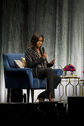 May 4, 2019 - Toronto, Ontario, Canada - Toronto hosted former First Lady, Michelle Obama, as she travels the continent on her book tour, ''Becoming''. ''Becoming'' is an autobiographical memoir of the First Lady's time in office. In picture: MICHELLE OBAMA (Credit Image: © Angel Marchini/ZUMA Wire)