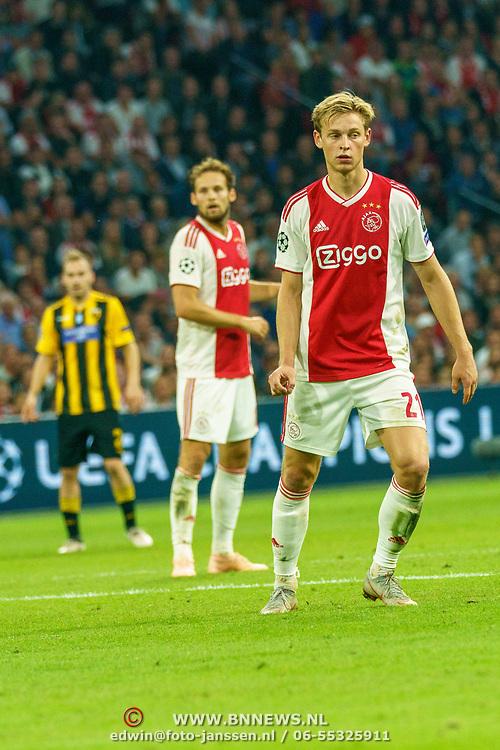 NLD/Amsterdam/20180919 - Ajax - AEK, nr 21 Frenkie de Jong