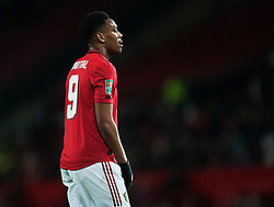 Anthony Martial of Manchester United - Mandatory by-line: Jack Phillips/JMP - 18/12/2019 - FOOTBALL - Old Trafford - Manchester, England - Manchester United v Colchester United - English League Cup Quarter Final
