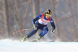 Great Britain's Millie Knight on her way to Silver in the Women's Downhill, Visually Impaired at the Jeongseon Alpine Centre during day one of the PyeongChang 2018 Winter Paralympics in South Korea.