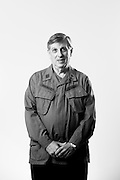 Sheldon Rudnicki<br /> Army<br /> O-3<br /> Dentist<br /> 1969 - 1971<br /> Vietnam<br /> <br /> Veterans Portrait Project<br /> West Point, NY