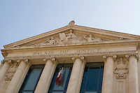 Palais de Justice in the old town in Nice the South of France