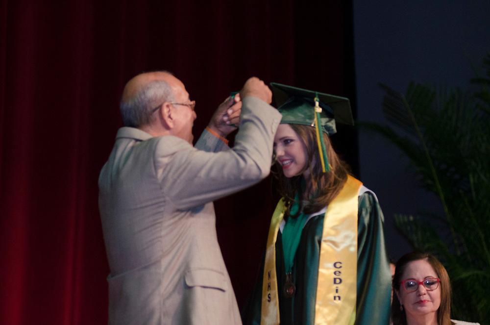 Graduación Clase 2017 Colegio CeDin, Universidad Interamericana de Puerto Rico.