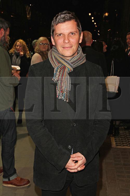 © Licensed to London News Pictures. 28/01/2015, UK. The Ruling Class - Gala Night, Trafalgar Studios, London UK, 28 January 2015; Nigel Harman. Photo credit : Brett D. Cove/Piqtured/LNP