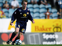 Fotball<br /> Adecco-ligaen 2005<br /> 19.06.2005<br /> Strømsgodset v Hødd 4-1<br /> Foto: Morten Olsen, Digitalsport<br /> <br /> Kevin Nicol - SIF