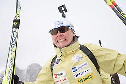 Andreja Mali of Slovenian Women Biathlon Team at Dachstein glacier before new season 2008/2009, Austria, on October 30, 2008.  (Photo by Vid Ponikvar / Sportida)