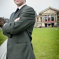 Nederland,Amsterdam ,31 juli 2006..De 39 jarige Simon Reinink, nieuwe directeur van het Concertgebouw..Foto:Jean-Pierre Jans
