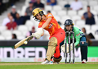 Cricket - 2021 Inaugural The Hundred: Women - The Eliminator -  Oval Invincibles vs Birmingham Phoenix - The Kia Oval - Friday 20th August 2021<br /> <br /> Birmingham Phoenix's Erin Burns in action during todays play.<br /> <br /> COLORSPORT/Ashley Western