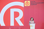 Ana Patricia Botin attends the delivery of Accreditation of the 7th edition of 'Honorary Ambassadors of the Spain Brand' at El Pardo Royal Palace on March 3, 2020 in Madrid, Spain