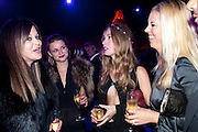 RONNI SASSOON; BENEDICTE WILHELNSEN; ANOUSKHA BECKWITH; TAMARA BECKWITH, Dinner and party  to celebrate the launch of the new Cavalli Store at the Battersea Power station. London. 17 September 2011. <br /> <br />  , -DO NOT ARCHIVE-© Copyright Photograph by Dafydd Jones. 248 Clapham Rd. London SW9 0PZ. Tel 0207 820 0771. www.dafjones.com.