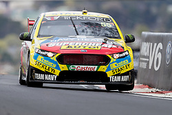 October 8, 2018 - Bathurst, NSW, U.S. - BATHURST, NSW - OCTOBER 07: Chaz Mostert / James Moffat in the Supercheap Auto Racing Ford Falcon heads across the mountain at the Supercheap Auto Bathurst 1000 V8 Supercar Race at Mount Panorama Circuit in Bathurst, Australia on October 07, 2018 (Photo by Speed Media/Icon Sportswire) (Credit Image: © Speed Media/Icon SMI via ZUMA Press)